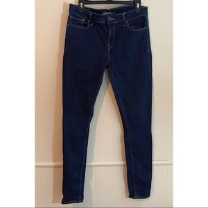 Express Jeans size 8 skinny dark wash mid rise